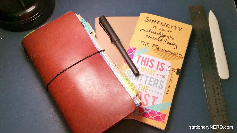 DIY: How to Make Midori Travelers Notebook Inserts