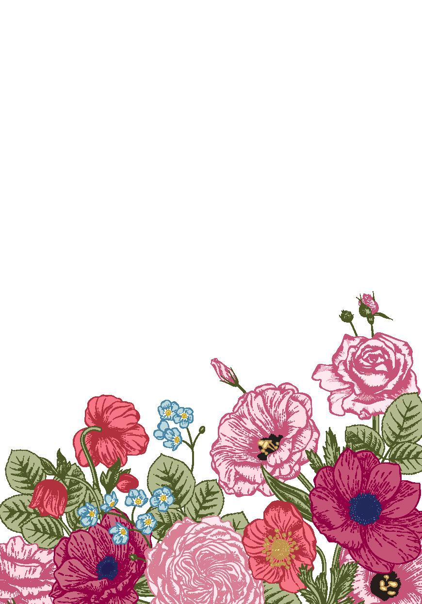 !WoY - FLORAL_pink blank