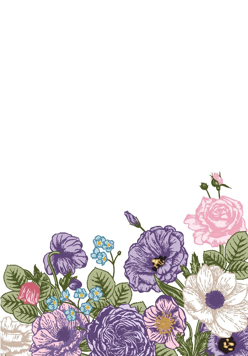 !WoY - FLORAL_purple blank