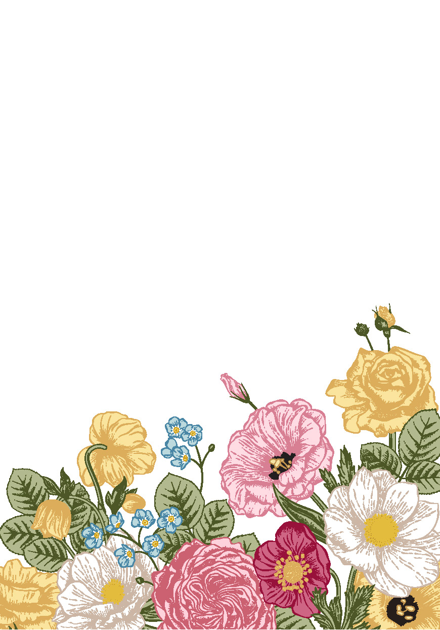 !WoY - FLORAL_yellow blank