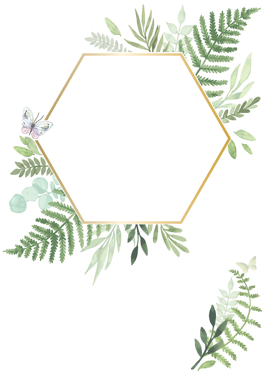 !WoY - GREENERY_hexagon blank